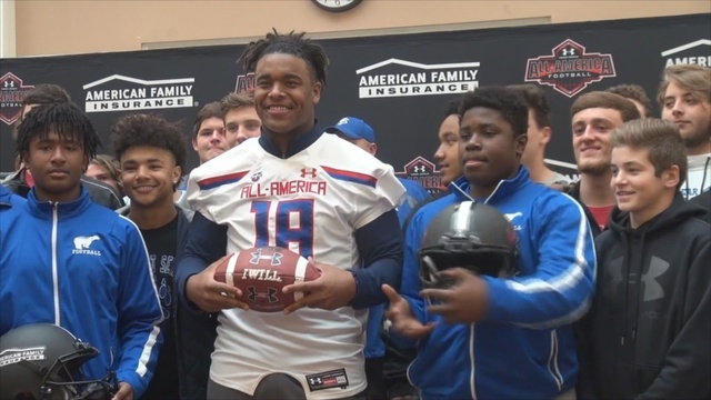 Stills collects sack in All-America Game
