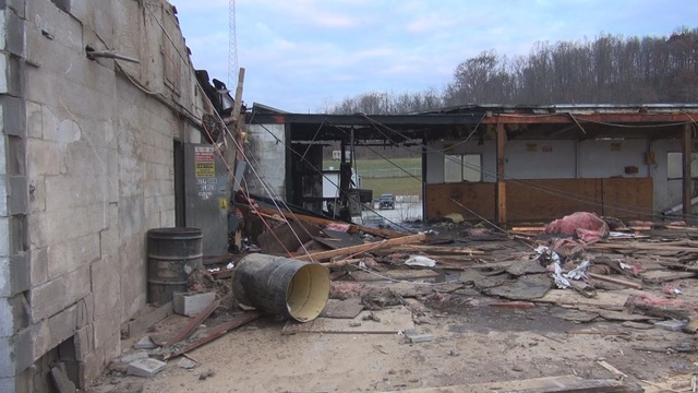 Fire reported at Harrison County business