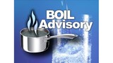 Boil water advisory issued for areas of Wetzel County