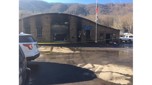 22-year-old man killed in Webster County Division of Highways fire
