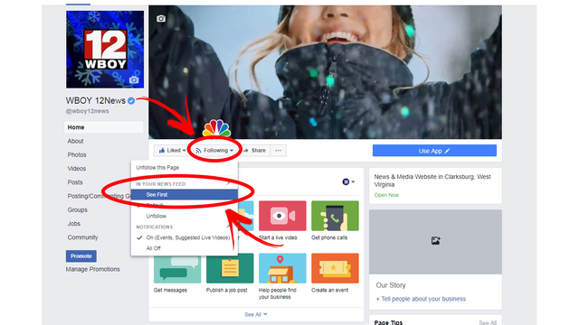 How to prioritize local news on Facebook