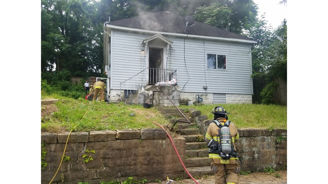 Emergency crews respond to house fire in Fairmont