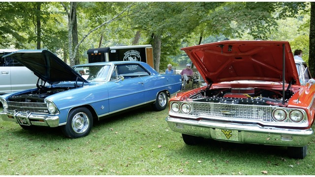 Valley Falls State Park Hosts Annual AACA Antique Car Show - Aaca car show