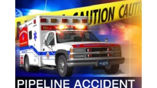Harrison County EMS respond to a pipeline accident in Wallace