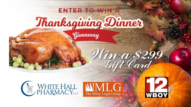 THANKSGIVING DINNER SWEEPSTAKES