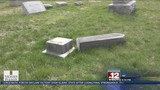 Graves vandalized at Lewis County Cemetery