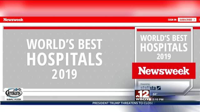 WVU Medicine named as one of top 1,000 hospitals in world by Newsweek